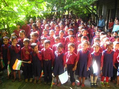Ramana's school children